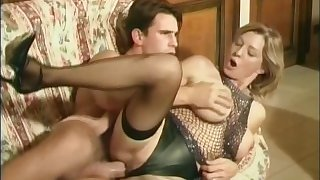 Colette Sigma - Milf Lets Daughter's Boyfriend Fuck Her In The Ass